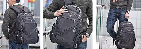 ae2d3878a4d6 Рюкзак городской SwissGear 8810 (USB), купить с доставкой. Оптовые цены.