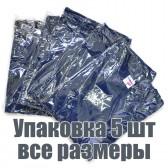 Упаковка футболок, 5 шт, 5 размеров (Темно-синий)