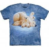 "Футболка The Mountain ""Polar Bears Lounging"" (детская)"