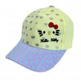 """Кепка для девочки """"Hello Kitty"""" -03"""