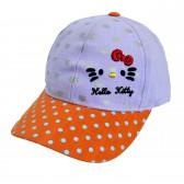 """Кепка для девочки """"Hello Kitty"""" -07"""