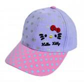 """Кепка для девочки """"Hello Kitty"""" -08"""