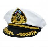 Фуражка-капитанка с якоркем