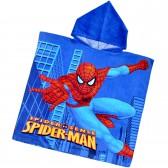 """Детская махровая накидка с капюшоном """"Spider Man"""""""