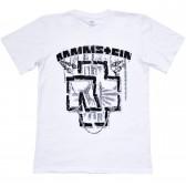 """Футболка """"Rammstein"""" (white)"""