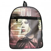 "Сумка-рюкзак ""Marilyn Manson"" -02"