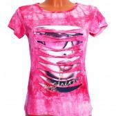 "Футболка женская ""Fashion Girl"" (pink)"