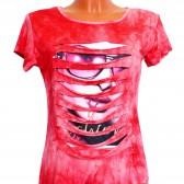 "Футболка женская ""Fashion Girl"" (red)"