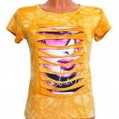 "Футболка женская ""Fashion Girl"" (yellow)"