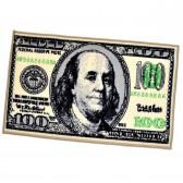 """Коврик придверный """"100 долларов"""""""