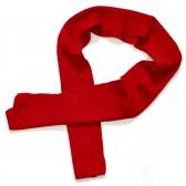Шарфик детский (бордовый)