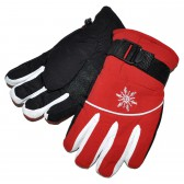 """Перчатки лыжные, для мальчика """"Буран"""" (red)"""