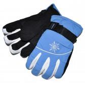 """Перчатки лыжные, для мальчика """"Буран"""" (l-blue)"""