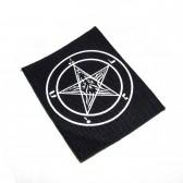 """Нашивка """"Звезда сатаны"""""""