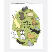 Собачий календарь 2017 (Dogs Calendar 2017)