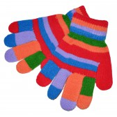 "Перчатки ""Цветная радуга"" -11"