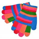 "Перчатки ""Цветная радуга"" -15"