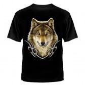 """Футболка с рисунком """"Серый волк"""""""