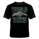 """Футболка с рисунком """"World of Tanks"""" (green-white)"""