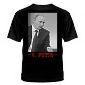 """Футболка с рисунком """"V. Putin"""""""