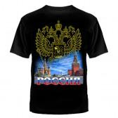 """Футболка с рисунком """"Россия"""" (Москва)"""
