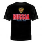 """Футболка с рисунком """"Russia"""""""