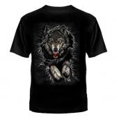 """Футболка с рисунком """"Прорывающий волк"""""""