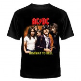 """Футболка с рисунком """"AC/DC"""" (Highway to Hell)"""