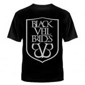 """Футболка с рисунком """"Black Veil Brides"""" (эмблема)"""