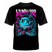 """Футболка с рисунком """"Blink - 182"""""""