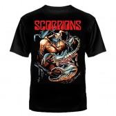 """Футболка с рисунком """"Scorpions"""""""