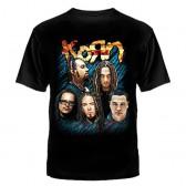 """Футболка с рисунком """"Korn"""""""