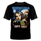 """Футболка с рисунком """"Nirvana"""""""