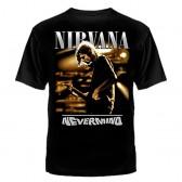 """Футболка с рисунком """"Nirvana Nevermino"""""""