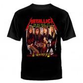 """Футболка с рисунком """"Metallica"""""""