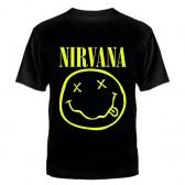 """Футболка с рисунком """"Nirvana смайлик"""""""