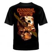"""Футболка с рисунком """"Cannibal Corpse"""""""