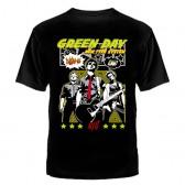 """Футболка с рисунком """"Green Day"""" (new type system)"""