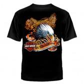 "Футболка с рисунком ""Motor Harley-Davidson"" (орёл)"