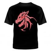 """Футболка с рисунком """"Skillet"""" (дракон)"""