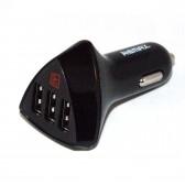 """Автоадаптер 3 USB гнезда """"Remax"""" 4,2A (общий ток)"""