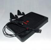 Коврик-органайзер нескользящий для электронных устройств на торпеду автомобиля
