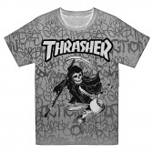 "Футболка ""Trhrasher"" -04 (опт под заказ)"