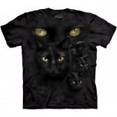 """Футболка """"Black Cat Moon Eyes"""" (США)"""