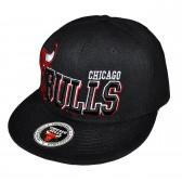 """Кепка рэперская """"Chicago Bulls"""" -3 (black)"""
