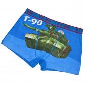 "Трусы мужские ""Танк Т-90"" (blue)"