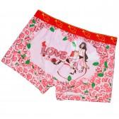 "Трусы мужские ""Love Rose"" (pink)"