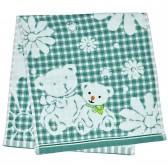 """Полотенце детское """"Bears"""" (green)"""