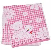 """Полотенце детское """"Bears"""" (pink)"""