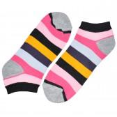 """Носки женские, короткие, """"Цветные полосы"""" -23"""